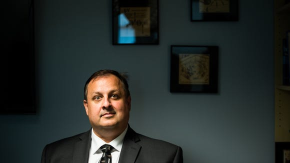 Walter Shaub speaks with USA TODAY on July 25, 2017,