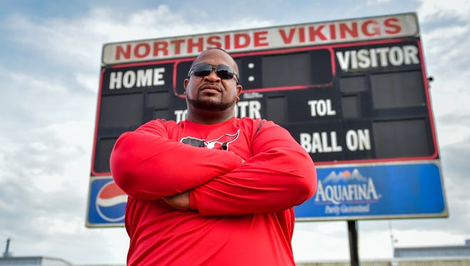 John Simmons, who's spent 17 years an as assistant at Northside, enters his first season as Vikings' head coach.
