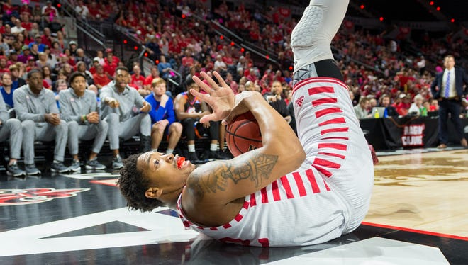 What the UL basketball team has done to date has been satisfying, but Bryce Washington would want to call a timeout before anyone suggests it's enough.