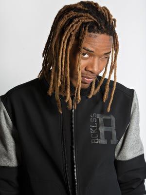 Hip-hop artist Fetty Wap, 24 (real name: Willie Maxwell).