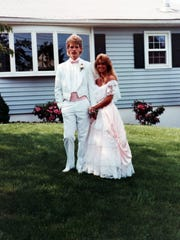 Alex and Carol Torresson from Carol's prom in 1988.
