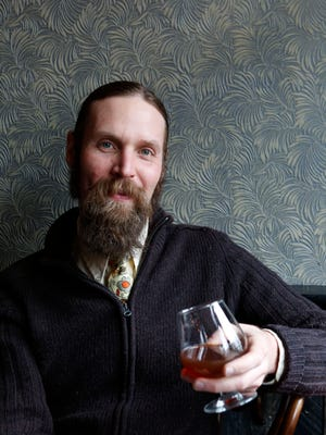 Clark Moore, the barman and beverage director at Harper's in Dobbs Ferry.
