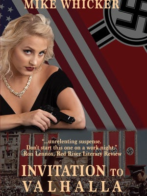 """""""Invitation to Valhalla"""" is a WWII era novel written by local author, Mike Whicker. The cover has been recently redesigned by Ivy Tech student, Jonathan Barrera"""