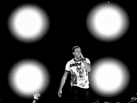 Ludacris performs onstage at the iHeartRadio Music