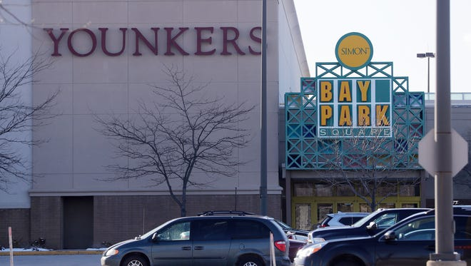 The Younkers store at Bay Park Square in Ashwaubenon.