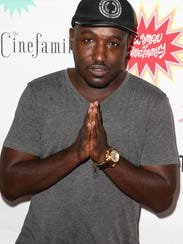 Comic and actor Hannibal Buress, who was in Michigan