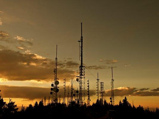 Sandia Radio towers