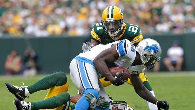 So, the Packers and Lions have a big game on Sunday night.