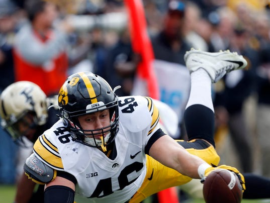 NCAA Football: Iowa at Purdue