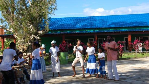 Garfuna Performers