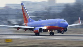 Southwest Airlines' website crashed due to a fare sale.