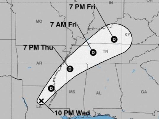 8.30.17 Harvey path prediction