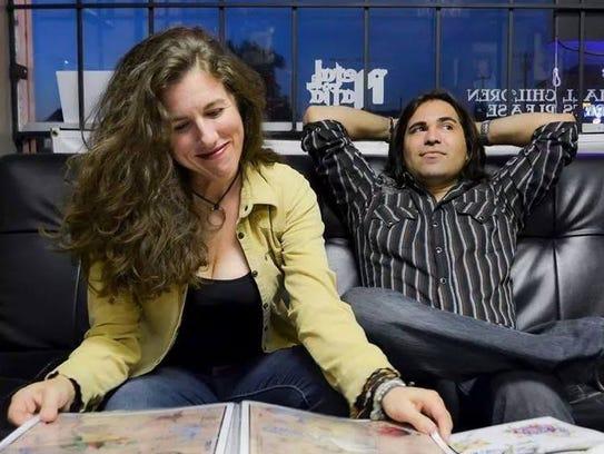 Carol Pacey and Andy Borunda of the Honey Shakers