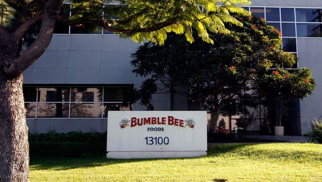 The Bumble Bee tuna processing plant in Santa Fe Springs, Calif., is shown Monday, Oct. 15, 2012.