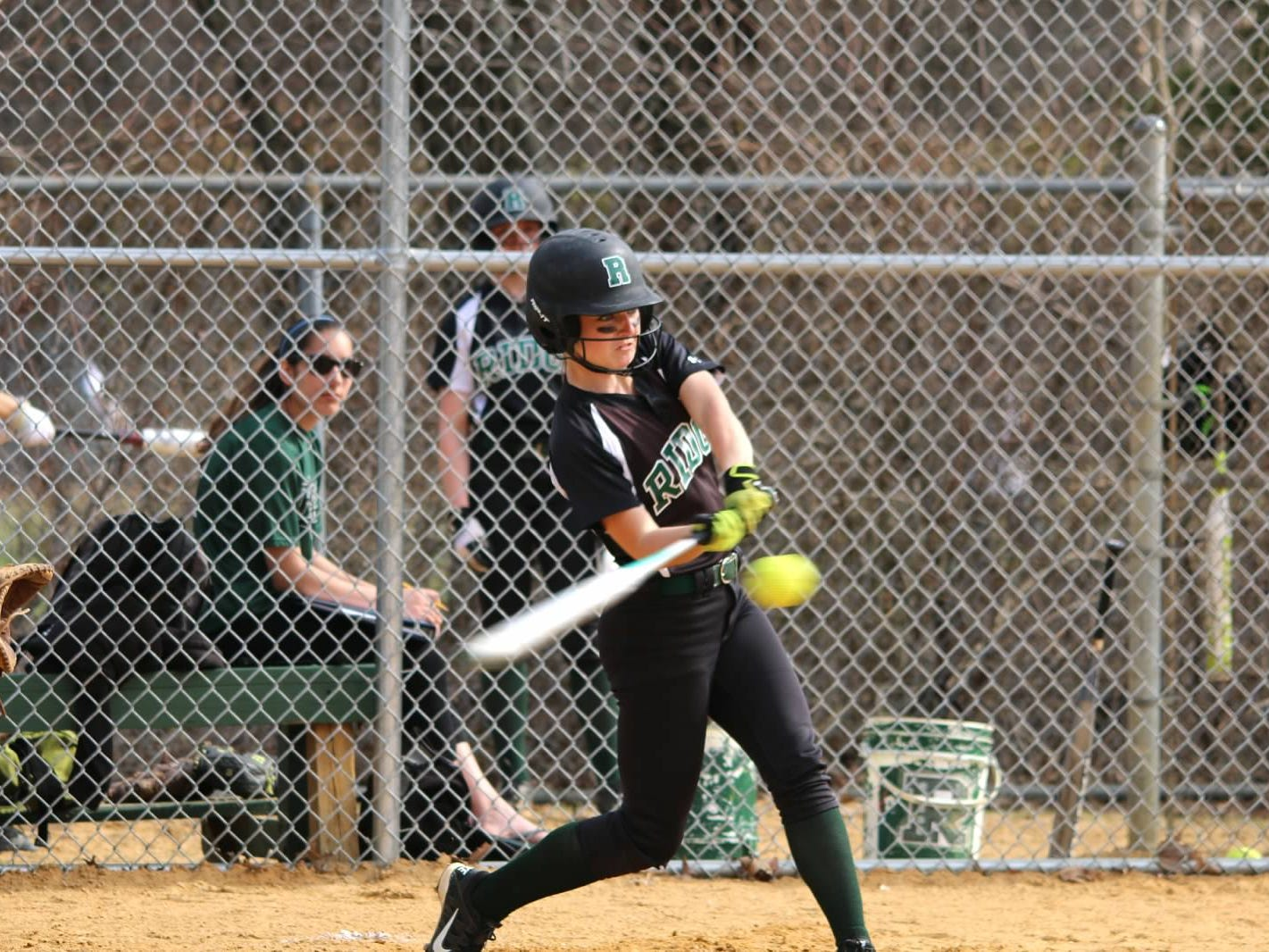 Three-sport standout Kristina Mueller was a four-year starter and captain for the Ridge softball team before a concussion last week ended her season and varsity career