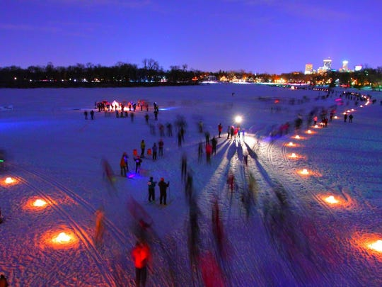 The Loppet Ski Festival is merely one of countless winter draws