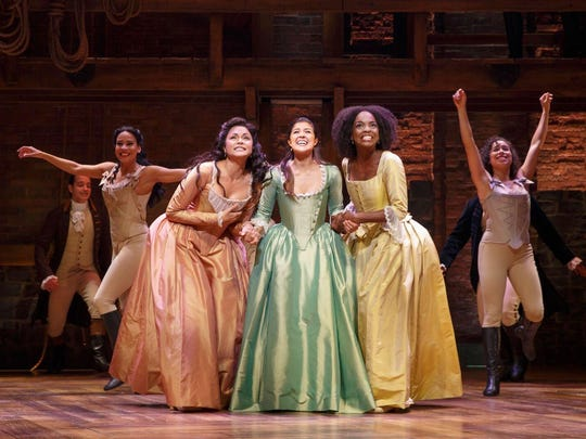 "The public ticket sale for the Broadway show ""Hamilton"" will take place 10 a.m. Saturday."