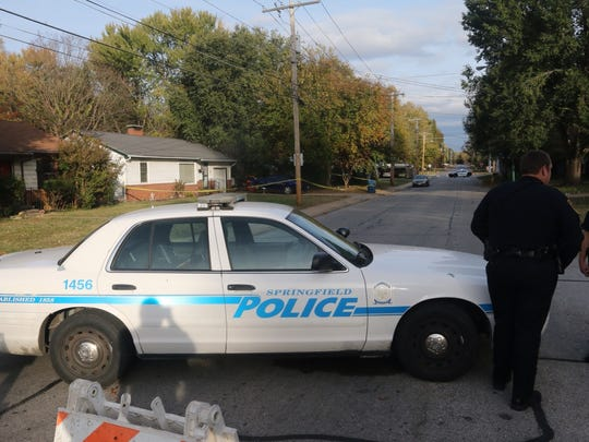 Springfield police investigate a homicide that took