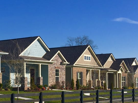 In Burkitt Springs, Regent Homes offers one-level living with prices ranging from around $260,000 to $390,000.