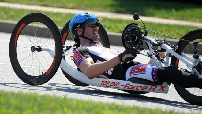 Brian Sheridan, owner of Howell-based Level Eleven Physical Therapy, will compete for para-cycling gold in the Rio 2016 Paralympics.