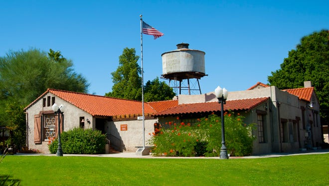 M.H. Whittier Ranch located on the grounds of the Coachella Valley History Museum.