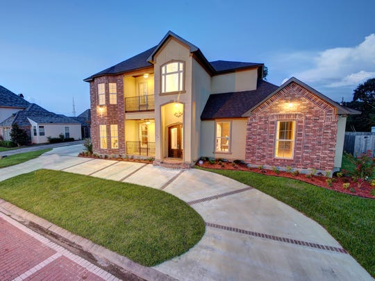 This 4 bedroom, 3 1/2 bath home is located at 105 Gated