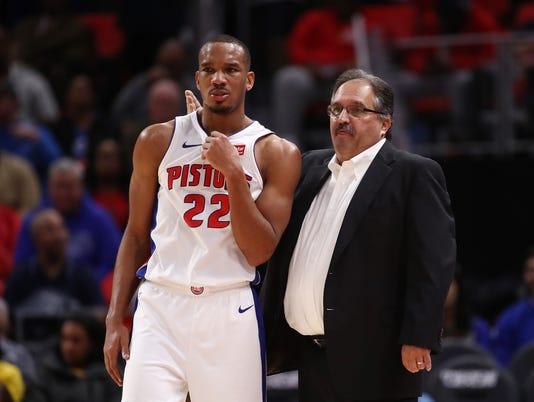 Indana Pacers v Detroit Pistons