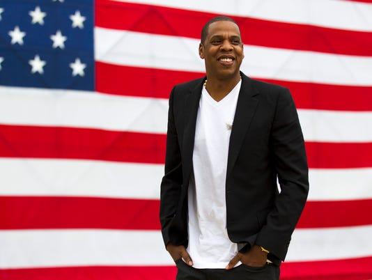 AP PHILADELPHIA MUSIC FESTIVAL-JAY-Z A FILE ENT USA PA