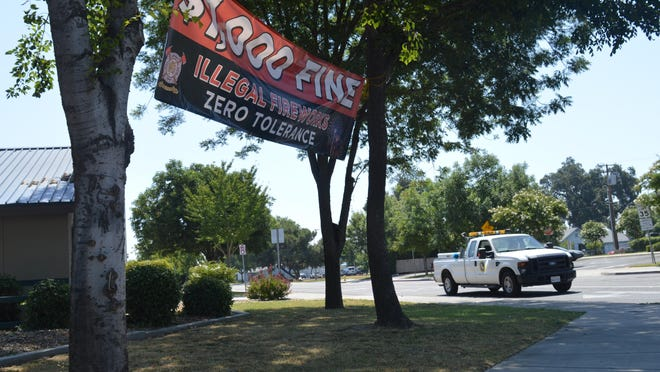 The Visalia Fire Department will hand out $1,000 fine for those using illegal fireworks during the Independence Day holiday. Tulare and Porterville are also planning enforcement patroling during the holiday.