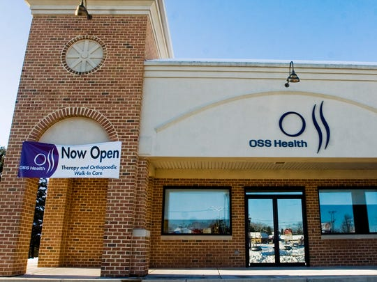 An OSS Health location in Hanover, as seen in this file photo from 2013.