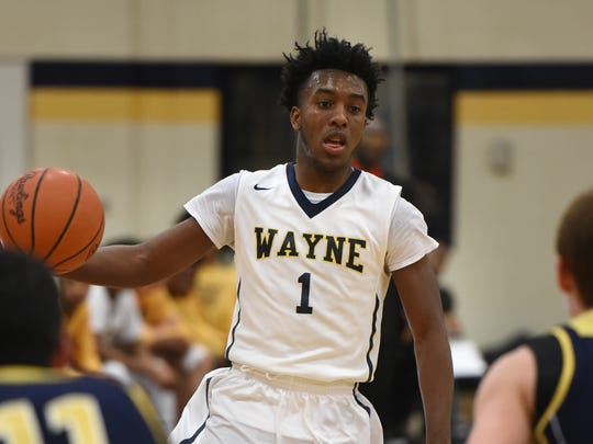 Wayne's Rashad Williams, shown earlier this season, led the Zebras to Tuesday's win over Livonia Stevenson with 29 points.