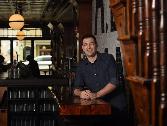 Mark Anderson is the manger of Ale House 1890. One