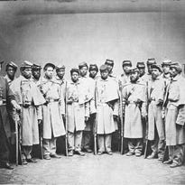 Photo of black Confederate soldiers