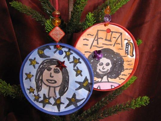 Self Portrait Ornaments