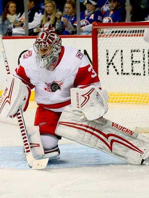 The Red Wings have been trying to move goaltender Petr Mrazek, but are not finding takers.