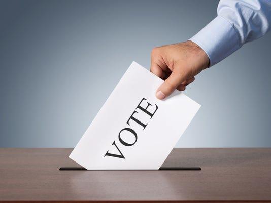 Stock voting image