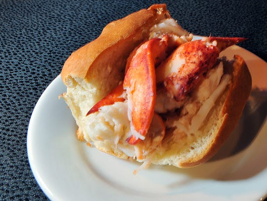New England-style lobster rolls are a perennial favorite at the Epcot International Food & Wine Festival.