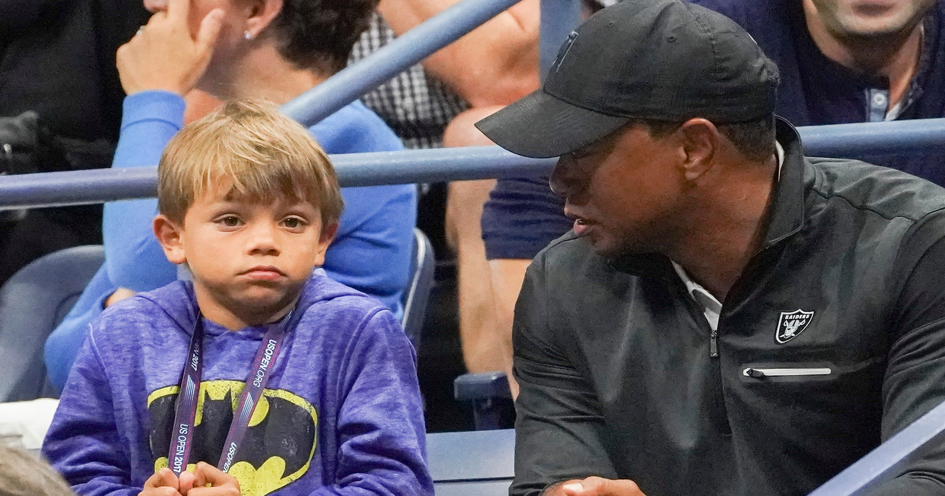 fc5fbf3c6f8 Tiger Woods motivated by his kids in latest return to golf