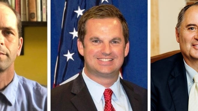 Dominic Giannone, state Rep. James Murphy, and Paul Rotondo