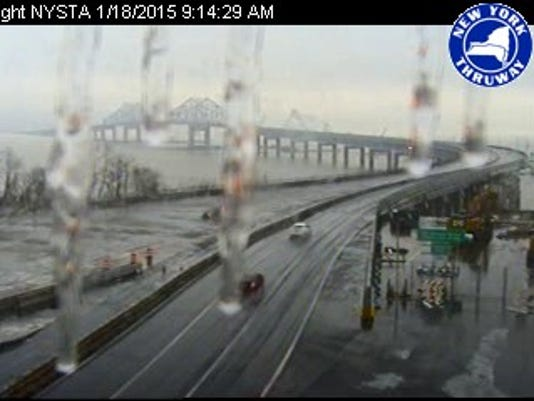 Section of Thruway near NYC was closed due to ice