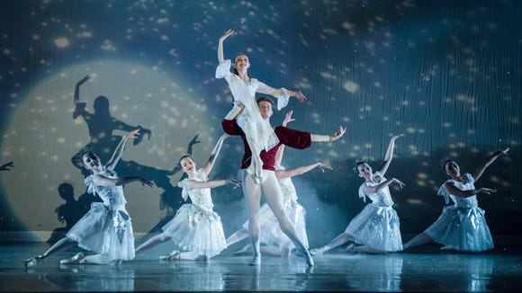 """A scene from Olympic Performance Group's 2016 production of """"The Nutcracker."""""""
