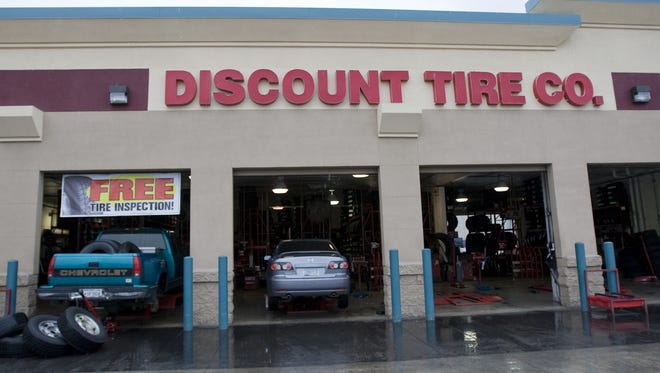 The Discount Tire and America's Tire chains are recalling nearly 80,000 light truck and SUV replacement tires.