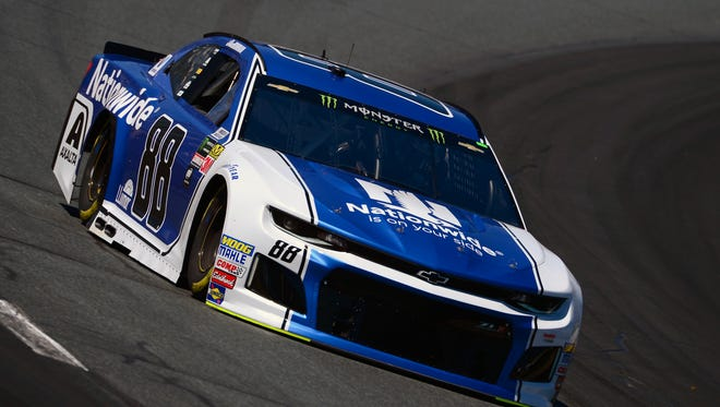 Alex Bowman is driving the No. 88 car for Rick Hendrick.