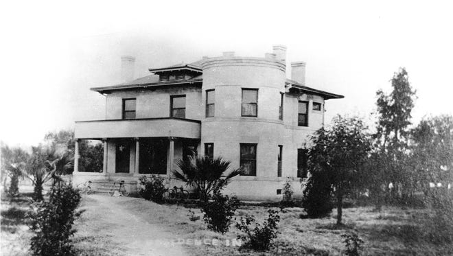 Mesa's first hospital opened in 1923, with 12 beds, in the former home of John T. and Geneva Casto LeSueur at Hibbert and Main Streets.
