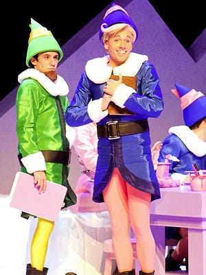 "Hermey and  Boss Elf from  ""Rudolph The Red-Nosed Reindeer: The Musical."""