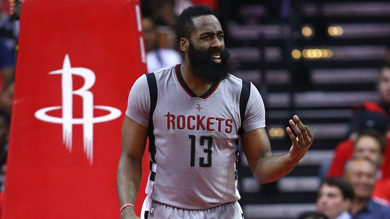 James Harden said the Rockets' embarrassing Game 6 loss to the Spurs falls on his shoulders.