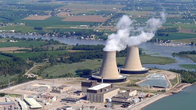 The Fermi 2 nuclear power plant.