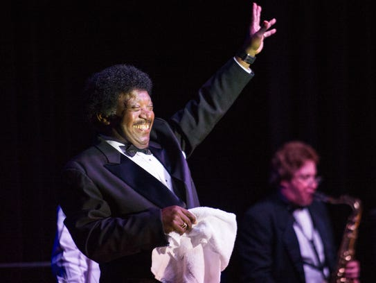 Soul musician Percy Sledge performs at Evangeline Downs