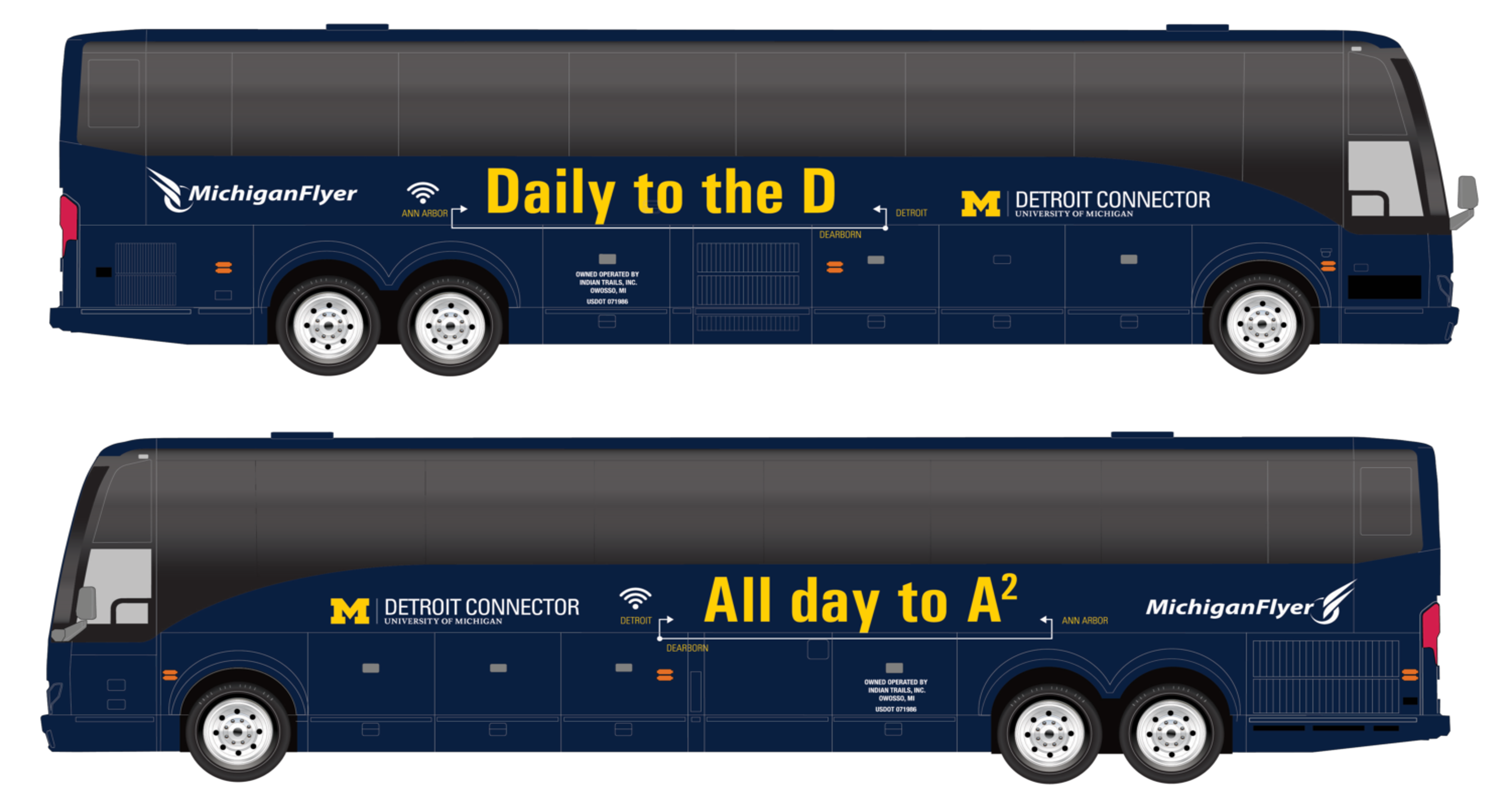 Detroit Connector to offer daily bus service to Ann Arbor