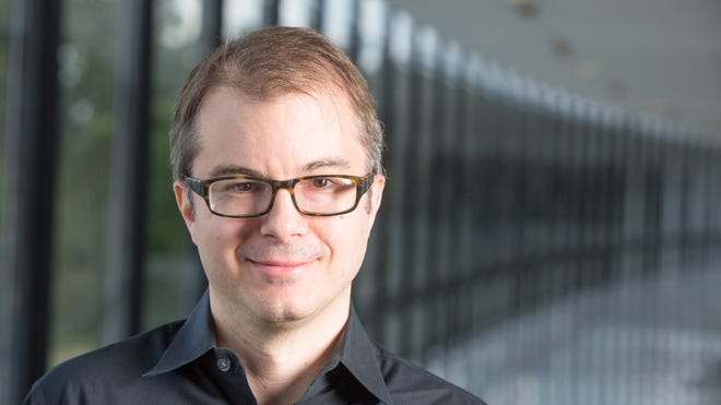 Craig Gentry a master encrypter at IBM's Watson Research center, Yorktown Heights, Sept 7, 2014. He was awarded a MacArthur Foundation 'genius grant' on Sept. 17, 2014.